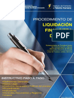 Instructivo de Liquidacion