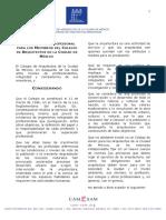 Codigo de Etica Profesional Hojas Membretada Anexo