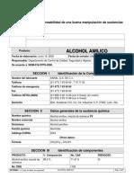 Labo 1 de Inorganica Alcohol Amilico