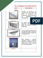 Instrumentos y Equipos de Laboratorio