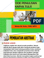 1. METODE PENULISAN KARYA TULIS-MAISJE-2018.pptx