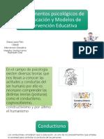 Fundamentos Psicológicos y Modelos de Intervención