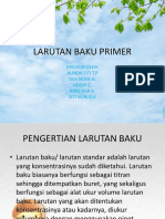 Ppt Larutan Baku Primer