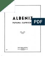 Albeniz- Pavana Capricho (4hands)