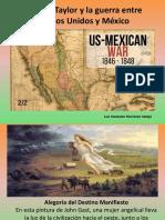 Unidad 5 Zachary Taylor y Guerra EEUU - México - Luis Fdo Moriones