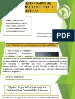Normas Estandares de Sostenibilidad Ambientalas