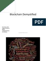 Blockchain Demystified