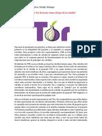 Por Qué Tor Browser Tiene El Logo de La Cebolla