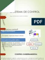 El Sistema de Control