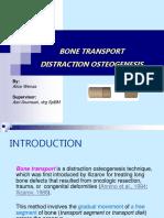 Bone Transport Distraction Osteogenesis 1