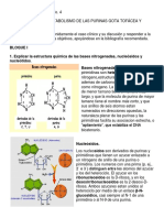 DISCUSIÓN N°4 transtornos del metabolismo de las purinas