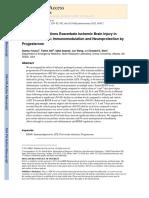 Brambilla Et Al. 2013 - The Effect of Stroke on Immune Function