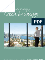 The Costs and Benefits of Achieving Green Buildings