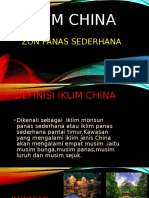 Iklim China