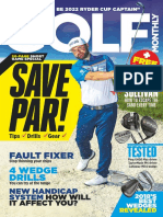 2018-05-01 Golf Monthly, 20-Page Short Game Special, Save Par Tips Drills Gear