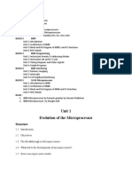 Unit 1 Evolution of the Microprocessor