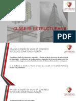 Clase III Estructuras II