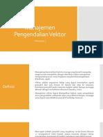 Manajemen Pengendalian Vektor