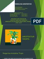Sains Dan Teknologi Arsitektur