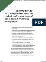 Indonesia Banking Survey 2017 Menghadapi Kenaikan Risiko Kredit – Apa Langkah Bank-bank Di Indonesia Selanjutnya