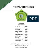 Critical Thinking-suntik Heparin Kel. 1