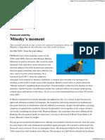 Minsky's Moment _ the Economist