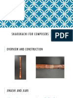 Shakuhachi for Composers