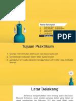 PPT Laporan Praktikum Asam-Basa