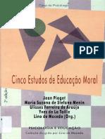 Jean Piaget - Cinco Estudos de Educação Moral (Livro Completo).pdf