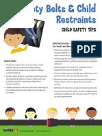 FHP Child Restraint Safety Flyer