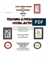 2010- 2011 Socical Justice Guild and Reader