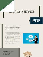Tema 1. Internet