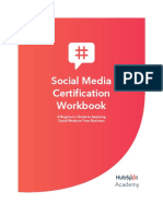Social Media Cert Workbook