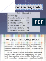 PPT Teks Cerita Sejarah (Kelompok 1)