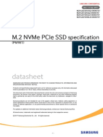 M.2 NVMe PCIe SSD specification