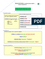 Excel Sintaxis Formulas