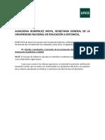 Calendario Academico 2018-2019 UNED