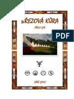 Březová Kůra, č. 270,  rok 2018,  měsíc Září