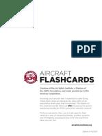 AOPA Aircraft Flashcards (Blank)