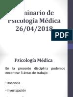 Seminario de Psicología Médica