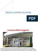 Special Support in Piping