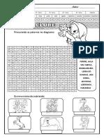 Atividade Diagnostica Lingua Portuguesa Folclore Atividades Suzano 3
