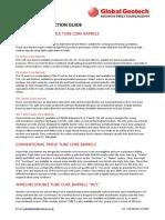 TrabalhoCore Barrel Selection Guide
