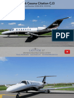 Citation CJ3 Spec-Sheet (Latitude 33 Jets)