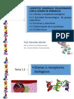 Química Farmacéutica. ASPECTOS GENERALES RELACIONADOS CON EL DISEÑO DE FÁRMACOS