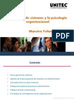 El Enfoque de Sistemas y La Psicología Organizacional