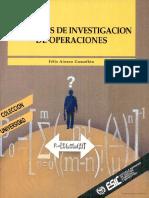 Ejercicio de Investigacion de Operaciones