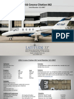 Citation M2 Spec-Sheet (Latitude 33 Jets)