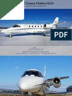 Citation XLS+ Spec-Sheet (Latitude 33 Jets)