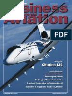 CJ4 Aviation Week Analysis (2010)